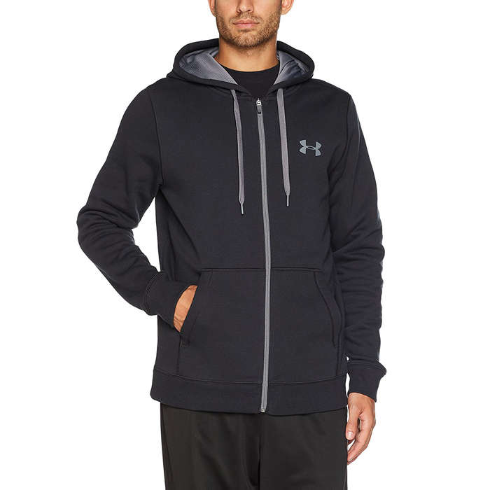 Best Men's Hoodies - Under Armour Rival Fleece Zip Hoodie