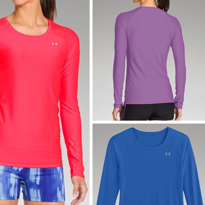 Best Fall Running Gear - Under Armour Women's HeatGear Alpha Long Sleeve