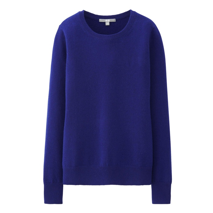 Best Crewneck Sweaters Under $100 - Uniqlo Cashmere Round Neck Sweater