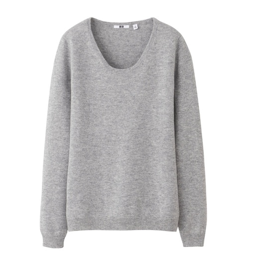 Best Cashmere Crewnecks - Uniqlo Cashmere Round Neck Sweater