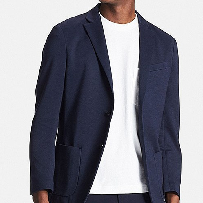 Best Men's Casual Blazers and Sports Coats - Uniqlo Men Comfort Jacket