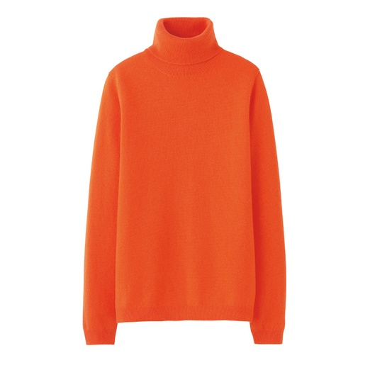 Best Cashmere Sweaters - Uniqlo Women Cashmere Turtle Neck Sweater