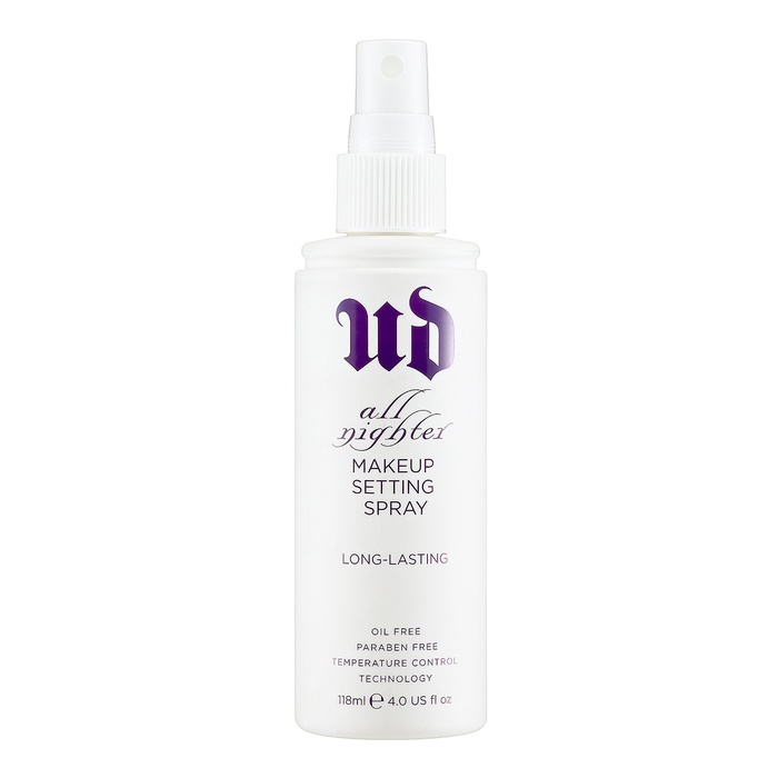 Best Primers - Urban Decay All Nighter Long-Lasting Makeup Setting Spray