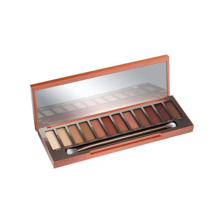 Best Eyeshadows for Your Eye Color - Urban Decay Cosmetics Naked Heat Palette
