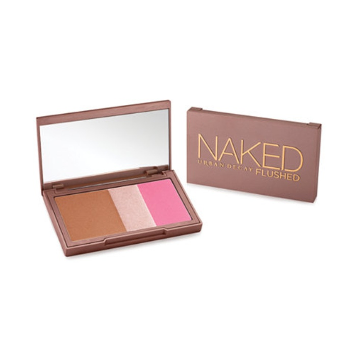Best Bronzer, Blush, and Highlighter Palettes - Urban Decay Naked Flushed Face Palette