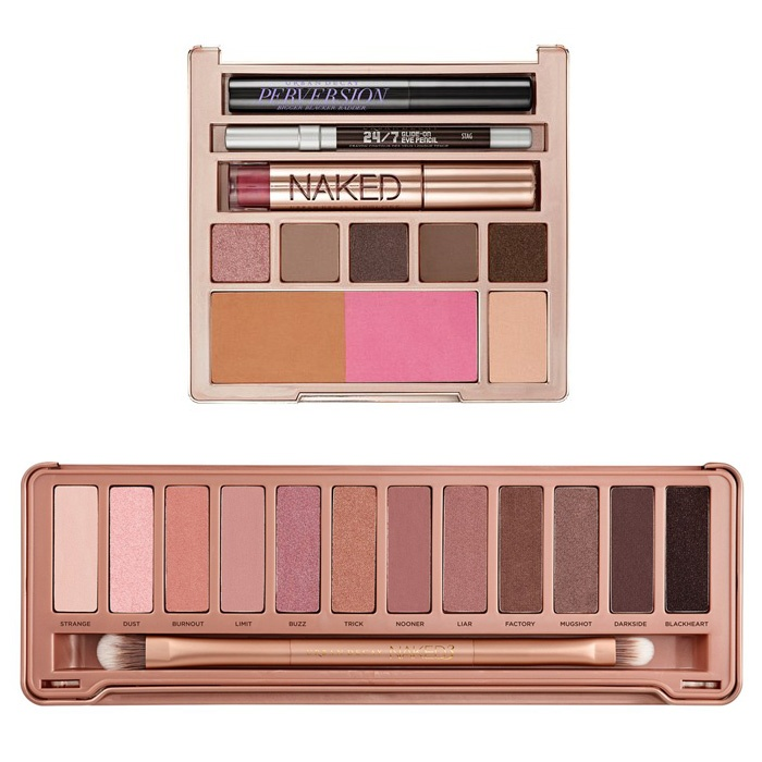 Best Best Beauty Gift Sets - Urban Decay Naked on the Run and Naked3 Palettes
