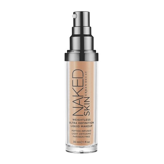 Best Liquid Foundations - Urban Decay Naked Skin Weightless Ultra Definition Liquid Makeup