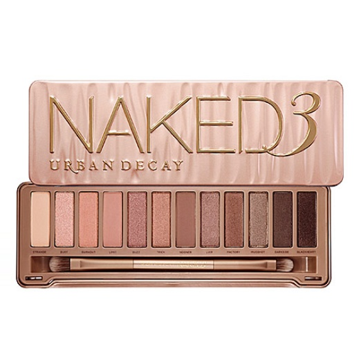 Best Ten Winter Date Night Musts - Urban Decay Naked3 Palette