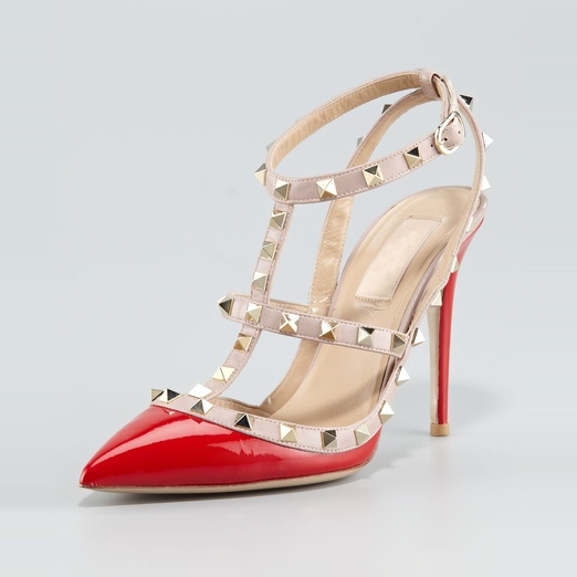 Best Ankle Strap Sandals - Valentino 'Rockstud' Pump