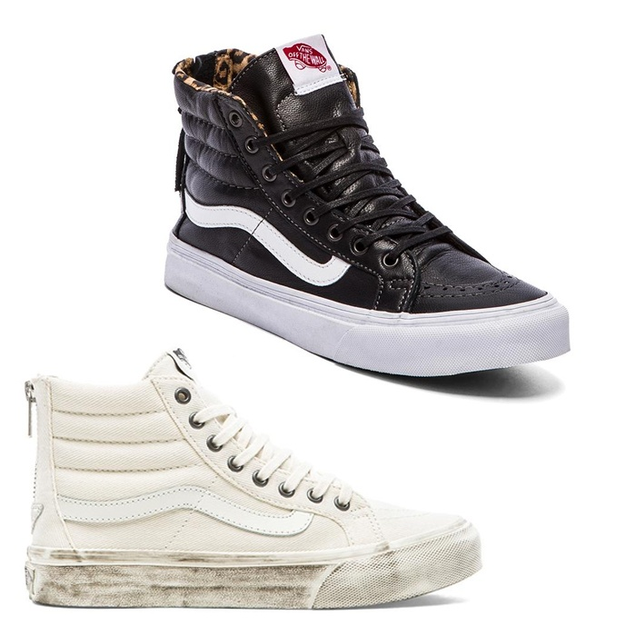 Best Winter High Tops - Vans SK8-Hi Slim Zip Sneaker