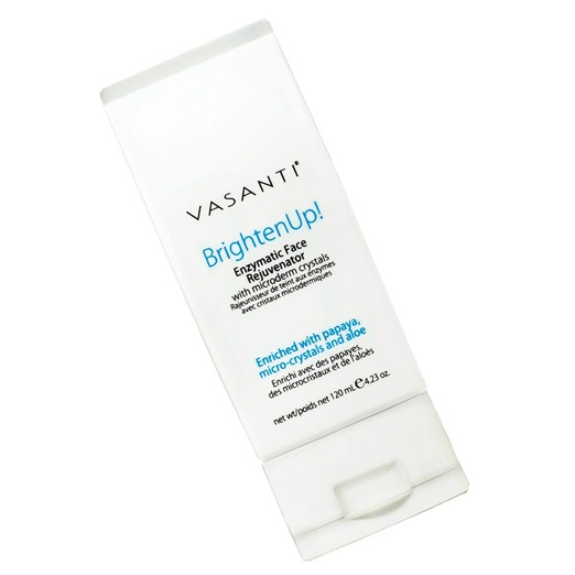 Best Facial Exfoliators - Vasanti BrightenUp! Enzymatic Face Rejuvenator