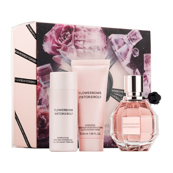 Best Women's Fragrance Gift Sets - Viktor & Rolf Flowerbomb Travel Gift Set