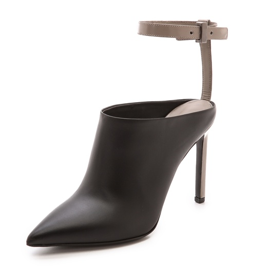 Best Mules for Fall - Vince Armon Ankle Strap Mules