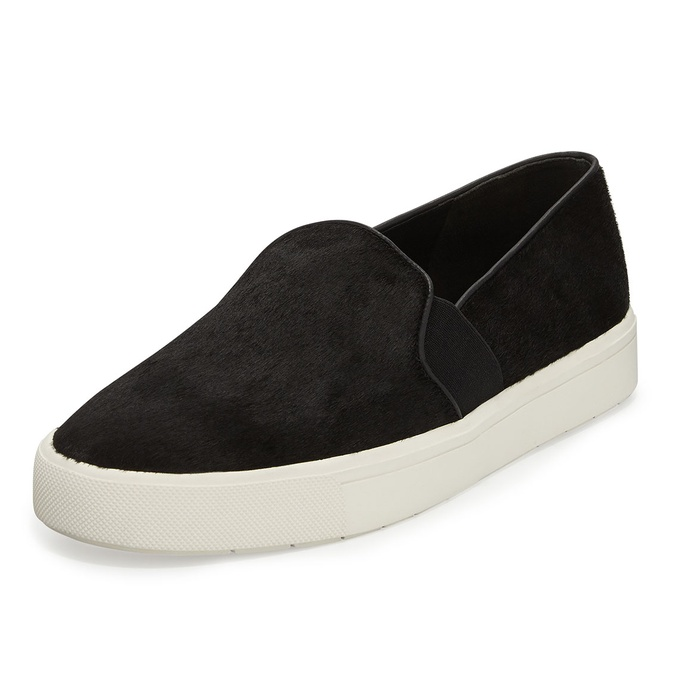 Best Slip On Sneakers - Vince Berlin Calf Hair Slip-On Sneakers
