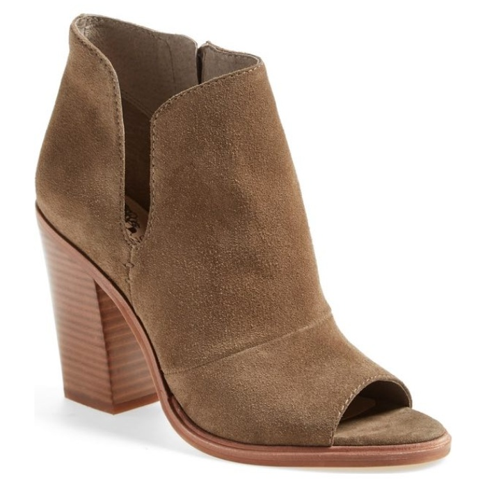 Best Booties On Sale - Vince Camuto Katleen Peep Toe Bootie