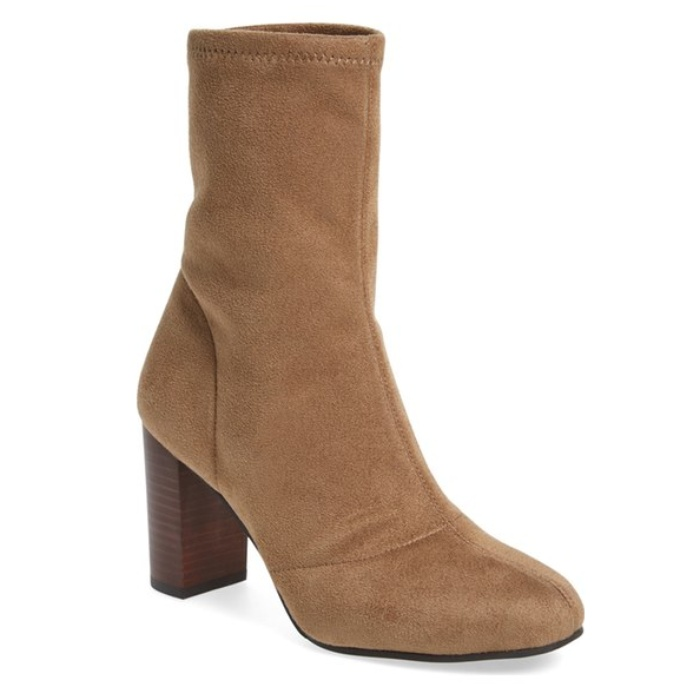Best Block Heeled Booties Under $150 - Vince Camuto Sendra Bootie