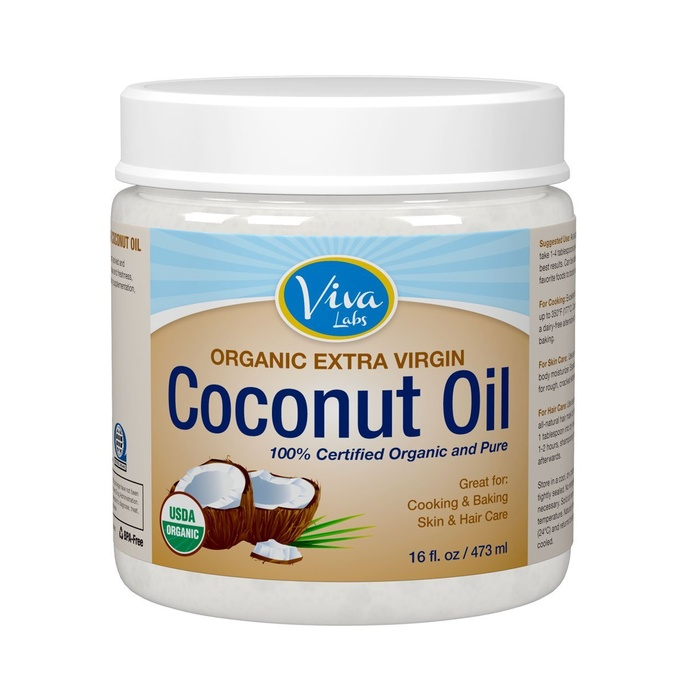 Best All-in-One Beauty Products - Viva Labs Organic Extra Virgin Coconut Oil