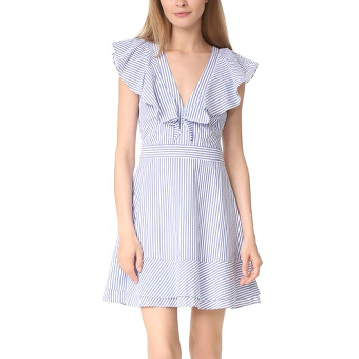 Best Summer Wedding Guest Dresses Under $150 - WAYF Manning Ruffle Dress