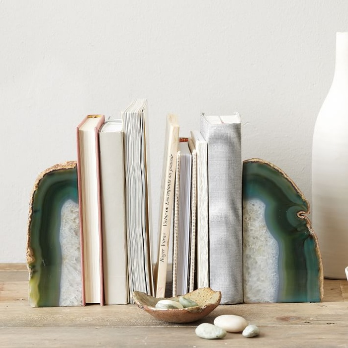 Best For the Career Women - West Elm Agate Bookends