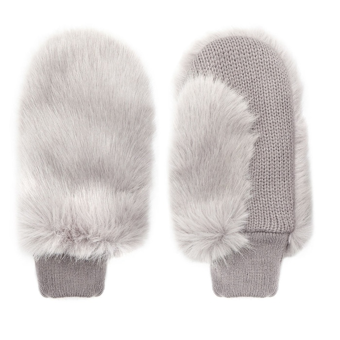 Best For the Ski Bunnies and Snow Angels - Whistles Faux Fur Mitten