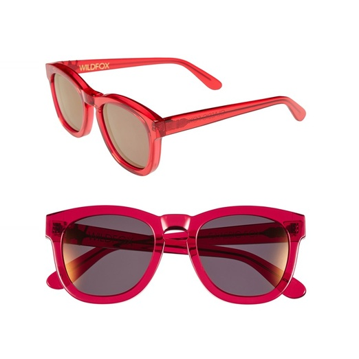 Best Beach Getaway Bests - Wildfox Couture Wildfox 'Classic Fox - Deluxe' 50mm Sunglasses