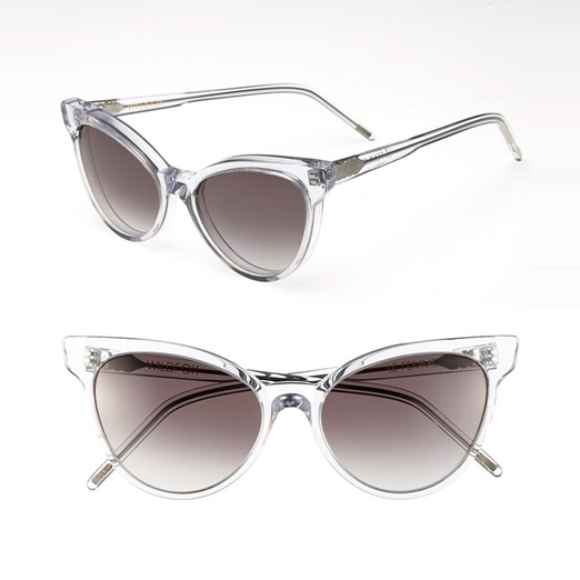 Best Sunglasses of All Shapes and Sizes for Spring - Wildfox Couture Wildfox Le Femme Sunglasses