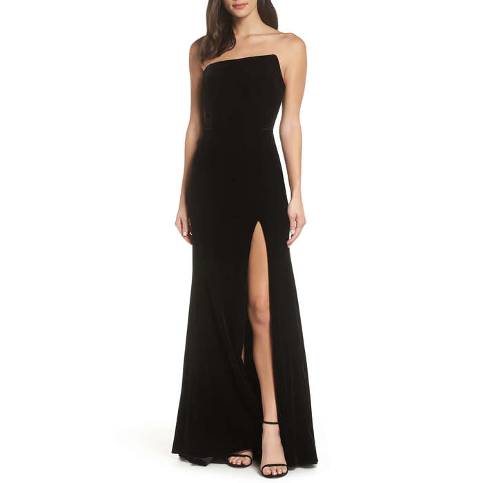10 Best Black Tie Dresses Rank Style