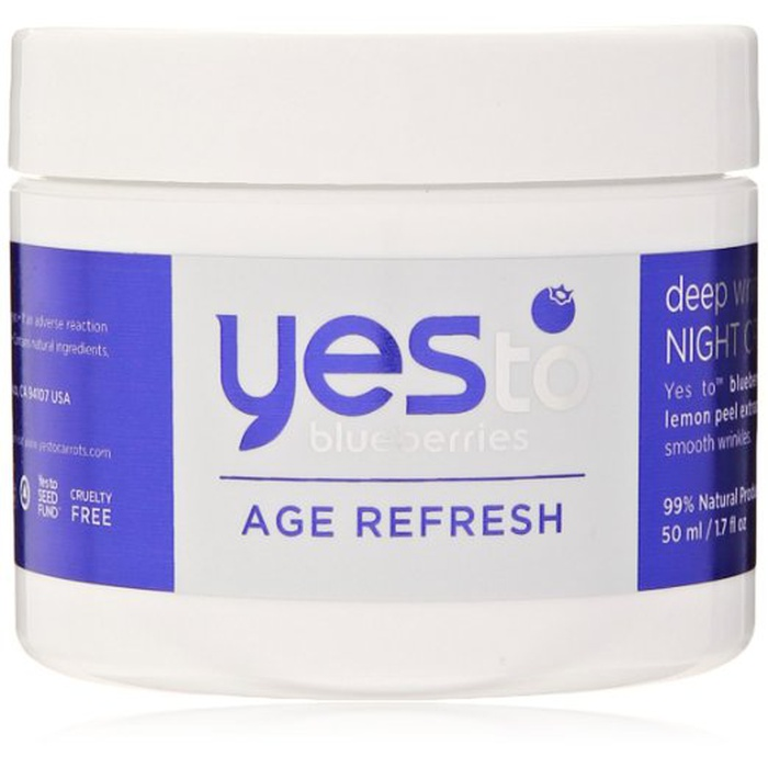 Best Drugstore Night Creams - Yes to Blueberries Deep Wrinkle Night Cream