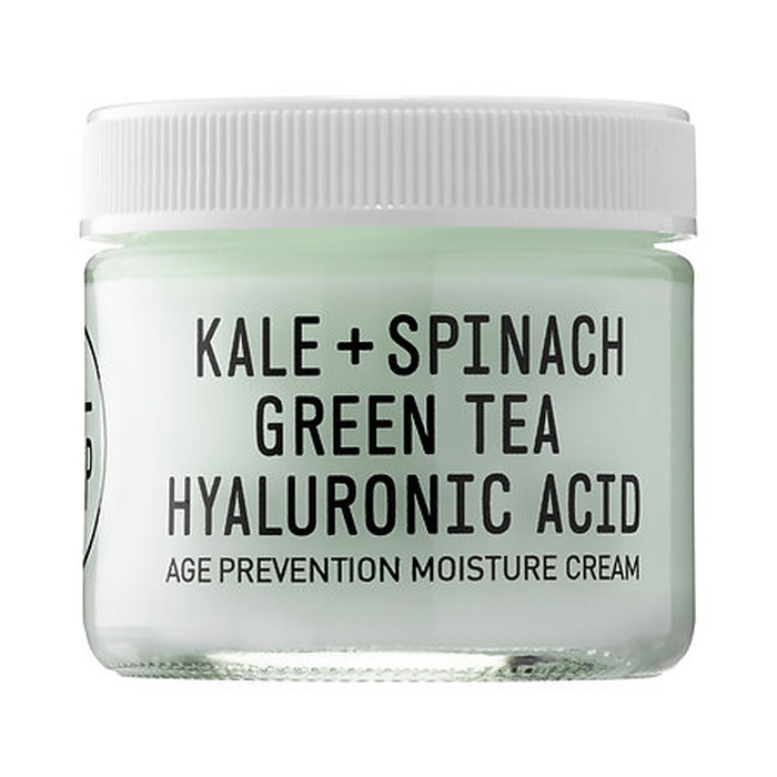 Best Indie Beauty Brands - Youth To The People Kale + Spinach + Hyaluronic Acid Age Prevention Cream