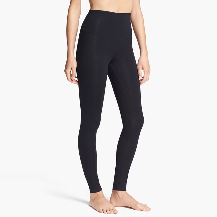 Best Black Leggings - Yummie by Heather Thomson Rachel Compact Cotton Leggings