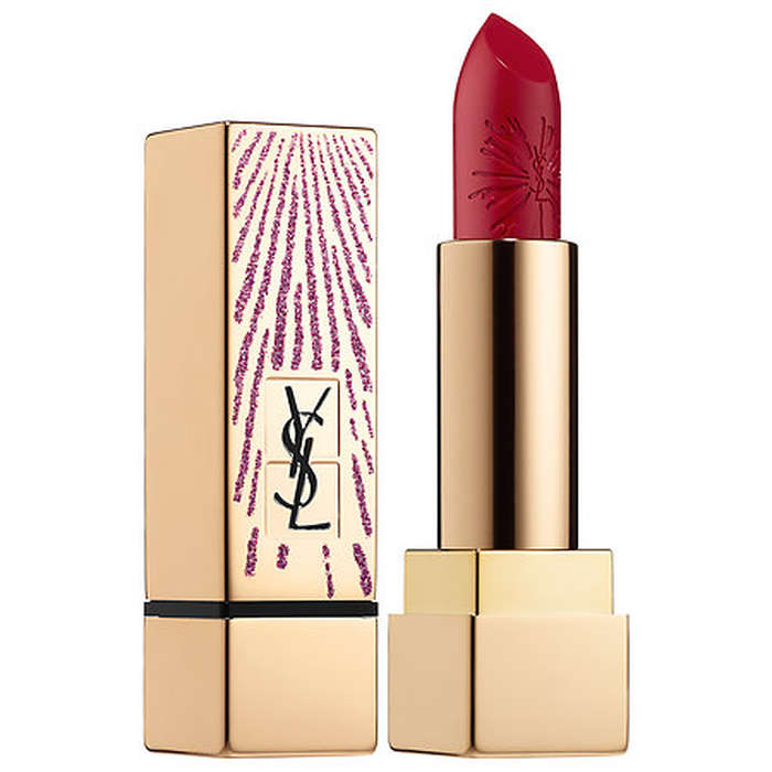 Best Beauty Blogger Wish List - Yves Saint Laurent Rouge Pur Couture Dazzling Lights Edition Lipstick - Holiday Kiss Collection
