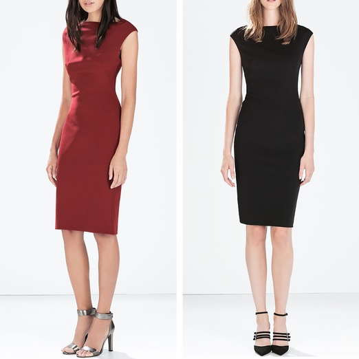 Best Work Dresses Under $200 - Zara Boatneck Tube Dress