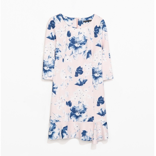 Best Work Dresses - Zara Floral Print Dress