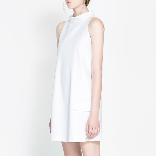 Best White Dresses - Zara Short Dress