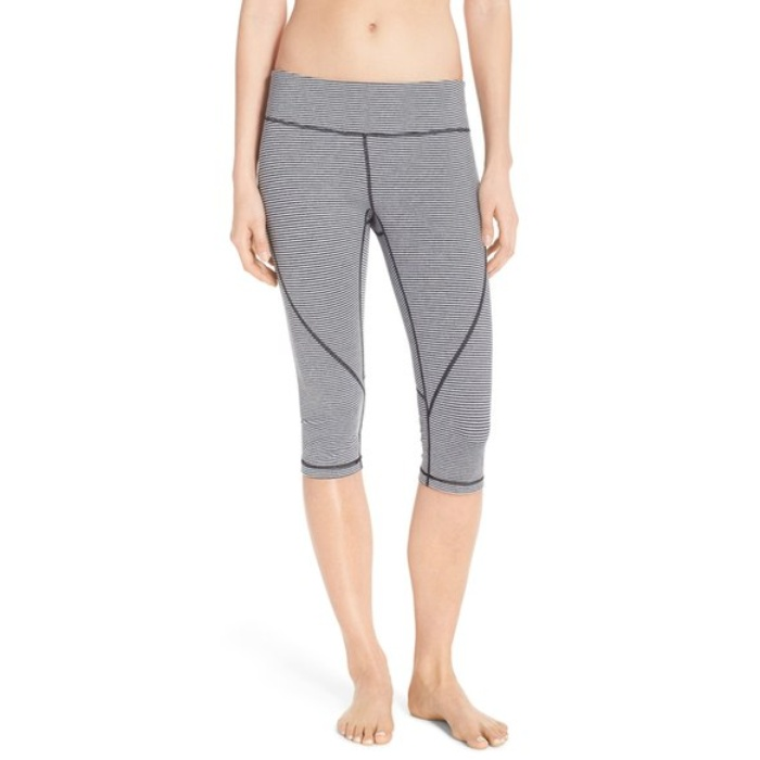 Best Cropped Workout Leggings - Zella Live In 2 Slim Fit Capris