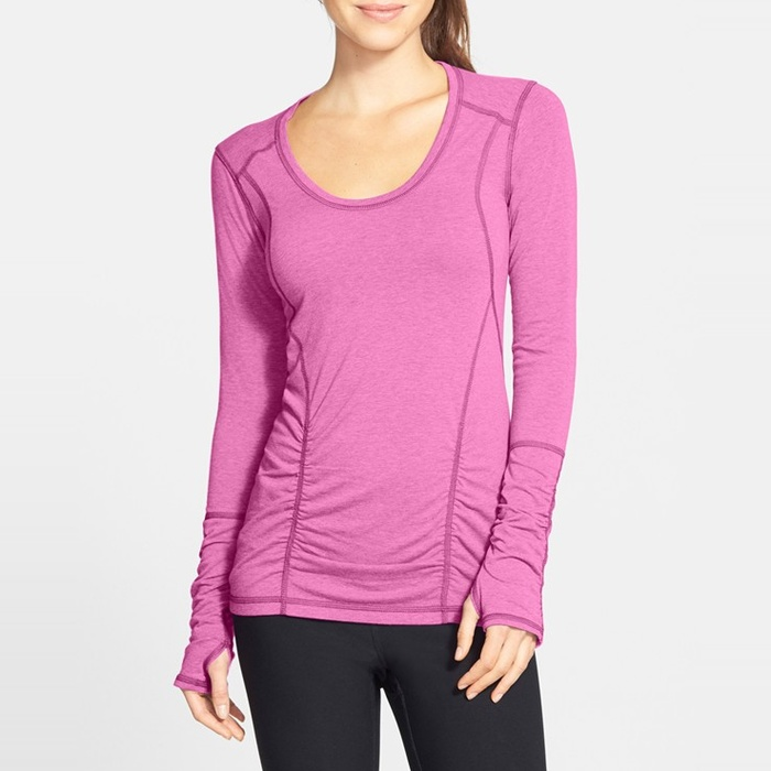 Best Cold Weather Workout Tops - Zella Z 6 Long Sleeve Top